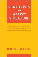 Sunk Costs and Market Structure : Price Competition, Advertising, and the Evolution of Concentration  (ISBN : 9780262693585)