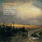 Steven Isserlis, Stephen Hough / 라흐마니노프 : 첼로 소나타, 프랑크 : 첼로 소나타 [바이올린 소나타 편곡(수입/CDA67376)
