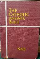 THE CATHOLIC ANSWER BIBLE - 가톨릭 대답 성경- 영어판- -구하기 어려운책-아래사진참조-