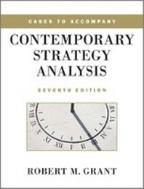 Contemporary Strategy Analysis 7/E (Paperback)