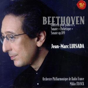 [중고] Jean-marc Luisada / Beethoven - Concerto Pour Piano No.4 Etc (수입/88697028302)