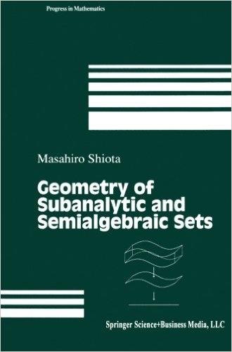Geometry of Subanalytic and Semialgebraic Sets  (ISBN : 9781461273783)