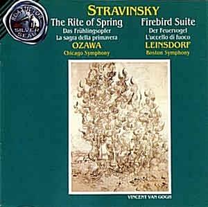 [수입] Ozawa,  Chicago Symphony, Leinsdorf,  Boston Symphony - Le Sacre Du Printemps / Firebird Suite