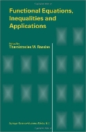 Functional Equations, Inequalities and Applications (ISBN : 9789048164066)