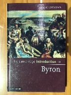 The Cambridge Introduction to Byron 1st ed, hardcover