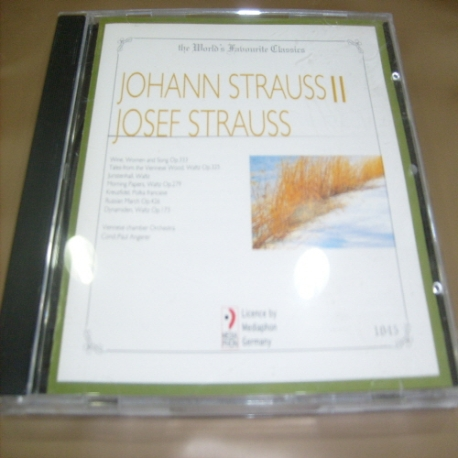 [수입 CD] Johann StraussⅡ / Josef Strauss - 1045