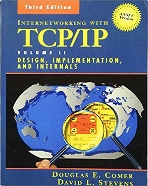 Internetworking with TCP/IP, Vol. 2 : Design, Implementation, and Internals, 3/ed (ANSI C Version)  (ISBN : 9780139738432)