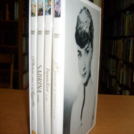 [소장품 DVD] 오드리 햅번 박스 셋트