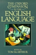 [영어원서 사전] THE OXFORD COMPANION TO THE ENGLISH LANGUAGE (1992년) [양장]