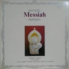 Handel : Messiah  highlights ///LP1