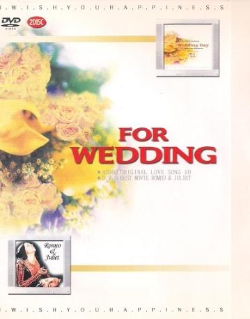 WEDDING DAY -해피뮤직 + 영화 로미오와 쥴리엣 DVD.2DISC