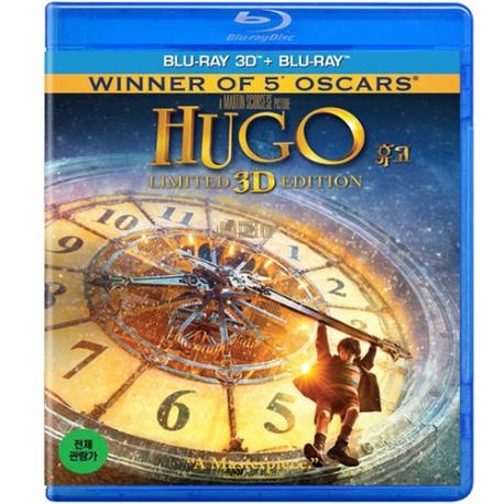 (블루레이) 휴고 3D+2D 일반판 (Hugo 3D+2D, 2disc)  블루레이
