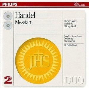 Colin Davis / 헨델 : 메시아 (Handel : Messiah) (2CD/DP2713)