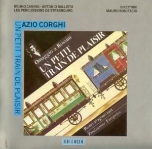 [미개봉] Bruno Canino, Antonio Ballista : Corghi : Un Petit Train de Plaisir (수입/미개봉/CRMCD1022)