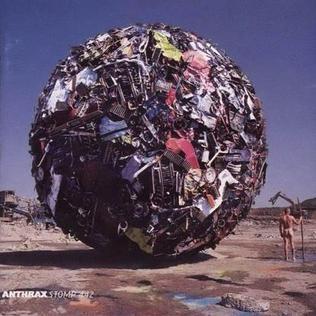 [일본반] Anthrax - Stomp 442 [+1 Bonus Track]