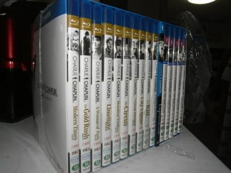 [DVD+블루레이합본] 찰리 채플린 컬렉션 박스셋트 (30Disc) 미개봉새제품,블루레이+DVD합본 콤보팩,
