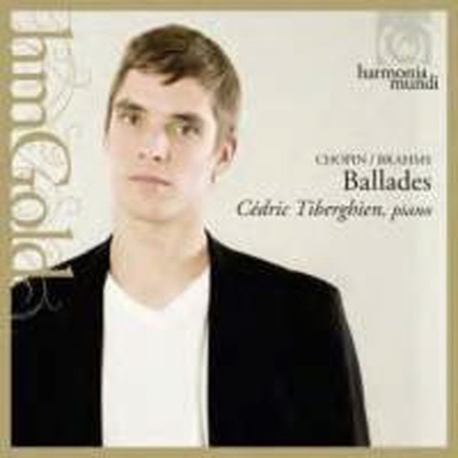 Cedric Tiberghien / 브람스 & 쇼팽: 발라드 (Digipack/수입/HMG501943)