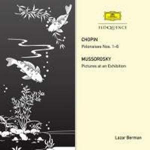 Lazar Berman /쇼팽: 6개의 폴로네즈 & 무소르그스키: 전람회의 그림 (수입/4807074)
