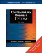 Contemporary Business Statistics 3/E: with CD-ROM #