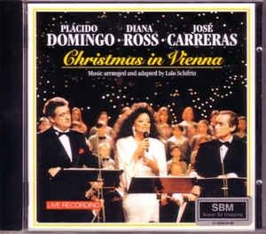 [수입] Dana Ross / Placido Domingo / Jose Carreras - Christmas In Vienna