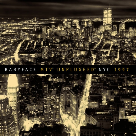 [수입] Babyface - MTV Unplugged NYC 1997