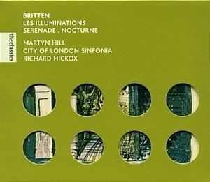 Richard Hickox / 브리튼 : 일루미네이션, 세레나데, 녹턴(수입/5619782)