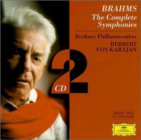 [수입] Herbert Von Karajan - 브람스: 교향곡 1-4번 (Brahms : The Complete Symphonies)[2CD]