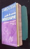 Guide de Poche Orthographe /사진의 제품   ☞ 서고위치:oi 5  *[구매하시면 품절로 표기 됩니다]