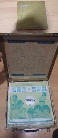 힛트가요특선집 신세기레코오드 주식회사 창립 제 15주년기념 (10장 LP들어있음)