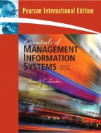 Essentials of Management Information Systems 8/E