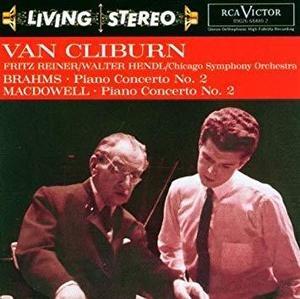 Van Cliburn, Fritz Reiner / Brahms: Piano Concerto No. 2 ~수입/09026684802)