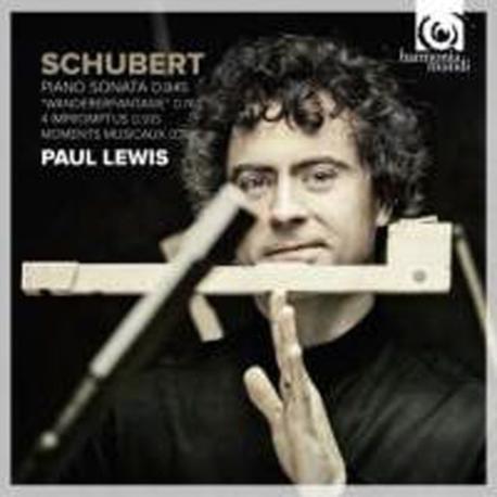 Paul Lewis / 슈베르트: 피아노 소나타 16번, 방랑자 환상곡 & 4개의 즉흥곡 (2CD/Digipack/수입/HMC90213637