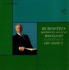 Artur Rubinstein  : Beethoven Sonatas ///LP1