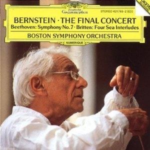 [미개봉] Leonard Bernstein / 번스타인 - 마지막 콘서트  (미개봉/DG0972)