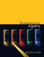 Intermediate Algebra (ISBN : 9780201658873)