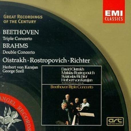 David Oistrakh, ~ / 베토벤 : 삼중 협주곡, 브람스 : 이중 협주곡(수입/5669542)