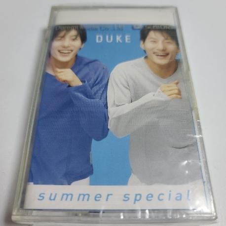 (미개봉Tape) 듀크 - Duke Summer Special