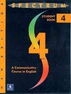 Spectrum 4 (Paperback) 색연필사용 약간(23,29,35,36)및 연필사용 약간(10장이내) 있음