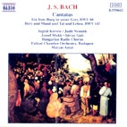 CANTATA BWV80,147/ MATYAS ANTAL - J.s. Bach [독일수입] 새것같은 개봉 * 바흐