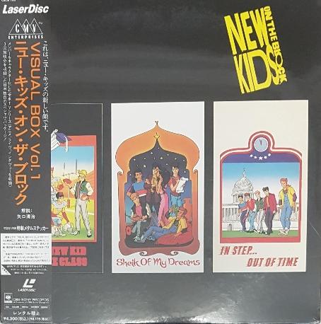 [미개봉][LD/Laser Disk][일본반] New Kids On The Block - Visual Box Vol.1