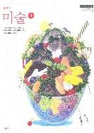 중학교 미술 1 교과서 (미진사-김인규) 측면윗부분에 이름표기함 / 본문 1곳 약간의 펜낙서 있음(85p)