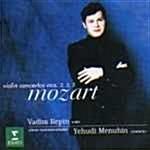 Vadim Repin, Yehudi Menuhin / 모차르트 바이올린 협주곡집 3984216602)