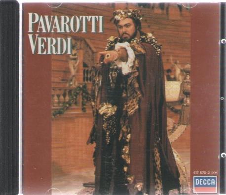 파바로티 - 베르디 Pavarotti Verdi Arias