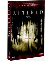 [DVD] The Altered - 얼터드 (미개봉)