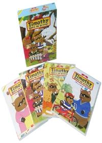티모시네 유치원 박스세트 [TIMOTHY GOES TO SCHOOL BOX] 1집 세트 (케이스 포함)(4disk)