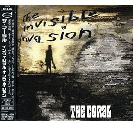 [일본반] Coral - The Invisible Invasion [+2 Bonus Track]