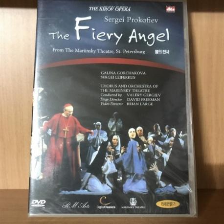 프로코피에프 불의 천사 [THE FIERY ANGEL: VALERY GERGIEV] [09년 2월 클래식 절판행사] 새상품 입니다.