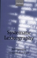 Systematic Lexicography  (ISBN : 9780198237808)