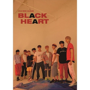 [미개봉] 유앤비 (UNB) / Black Heart (2nd Mini Album) (Black Ver)