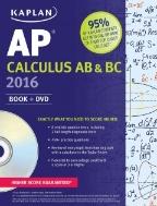 Kaplan AP Calculus AB&BC 2016 (with DVD)